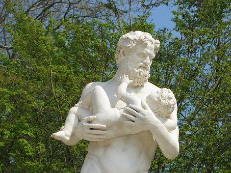 Statue, Versailles Castle, France