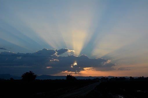 Nikon, 5200d, Sunrise On A Farm In Khuzestan, Iran