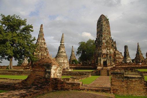 Asia, Thailand, Travel, Prayer, Ayuthaya