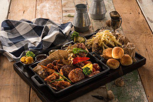Barbeque, Platter, Bbq, Barbecues, Barbecue, Cooking