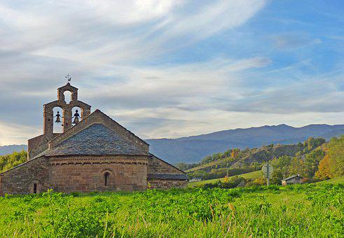 Cerdanya, Chapel, Romanesque Chapel, France, South