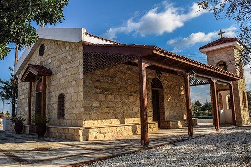 Cyprus, Avgorou, Ayios Mamas, Church, Religion