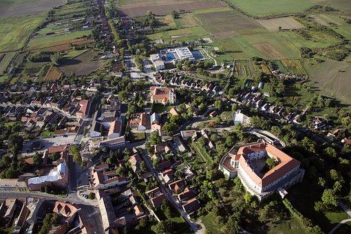 Siklós, Baranya, Church, Housing Estate, Family House