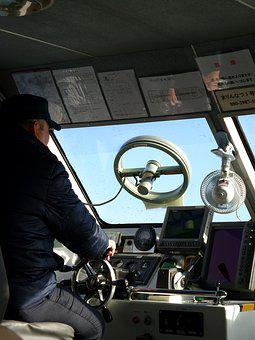Boat, Pilot, Ferry, Conductor