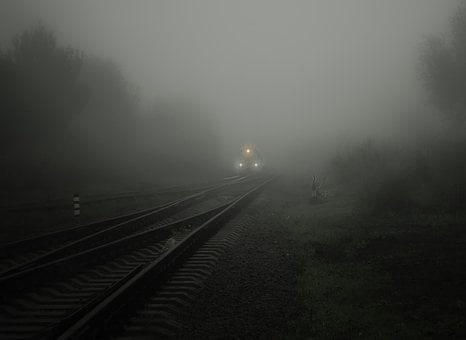 Fog, Train, Lights, Bill, Seemed, Soft, Circuit