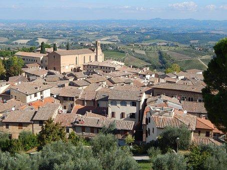 San, Giminiano, Tuscany, Italy