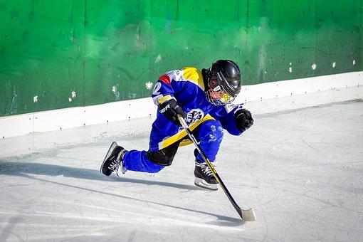 Ice Hockey, Sport, Hockey Racket, Ice Sports