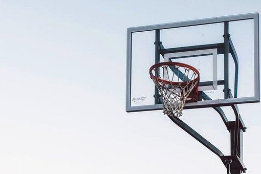 Basketball, Rim, Hoop, Net, Sports, Backboard, Glass
