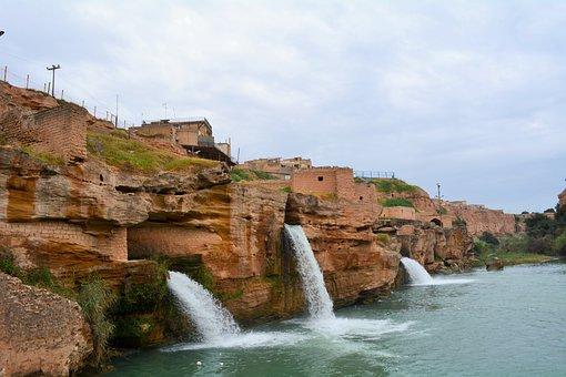 Iran, Ancient Waterfalls, Shoshtar