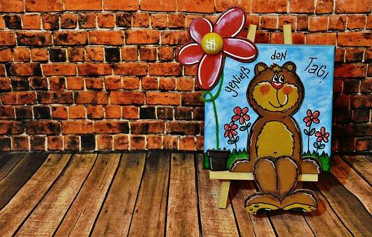 Bears, Motivation, Beautiful Day, Enjoy, Merry Mood