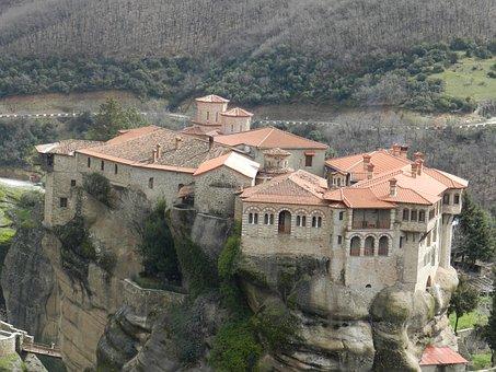 Meteor, Meteor Monastery, Meteor Monastery Greece