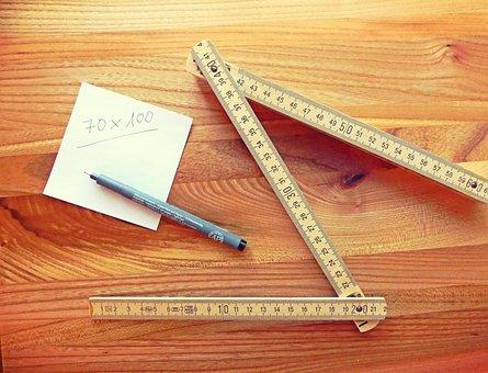 Folding Rule, Tape Measure, Measure, Craft, Number