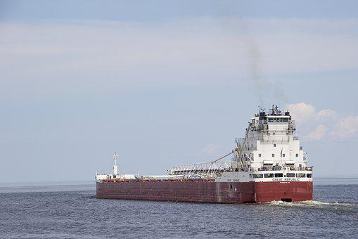Shipping, Ship, Coal, Sea, Lake, Port, Duluth, Ocean