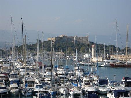 Antibes, Port Vauban, Méditerrannée, Port