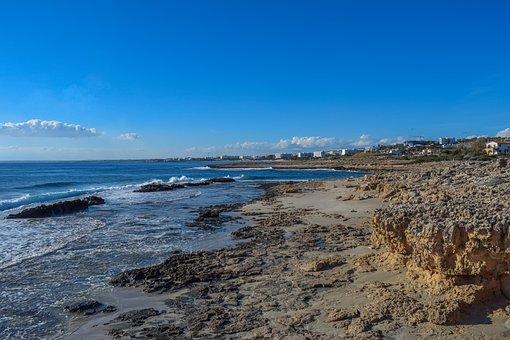 Beach, Coast, Scenery, Sea, Sand, Stones, Scenic