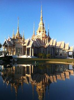 Temple, Buddism Temple, Thai Temple