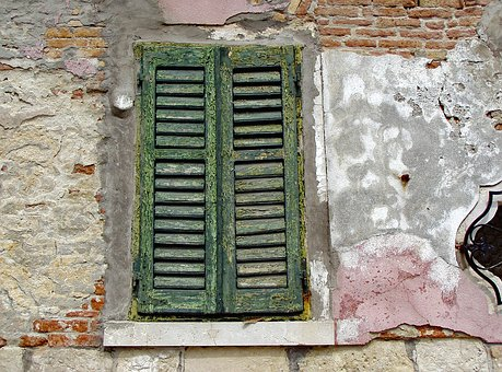 Venice, Window, Blind, End, Time, Closed, Hopeless