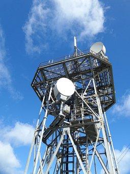 Antenna, Gsm, Tower, Network, Wireless, Blue, Sky, Gprs