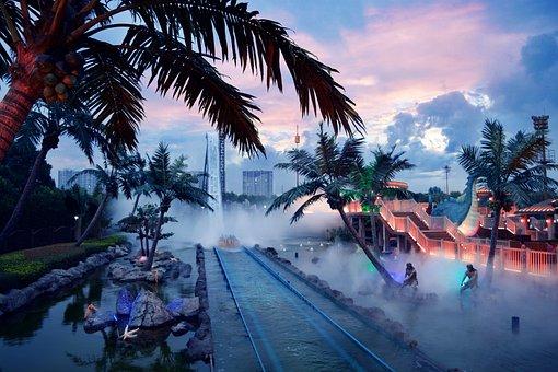 Changzhou, Amusement Park, Stimulus