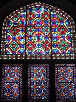 Yazd, Windows, Persian, Iran, Travel, Asia, Wall, Arch