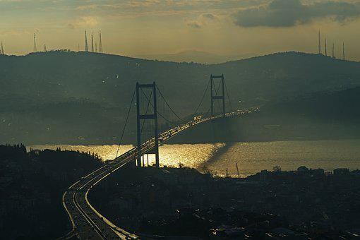 Istanbul, Turkey, Horizontal, Landscape, City, Urban