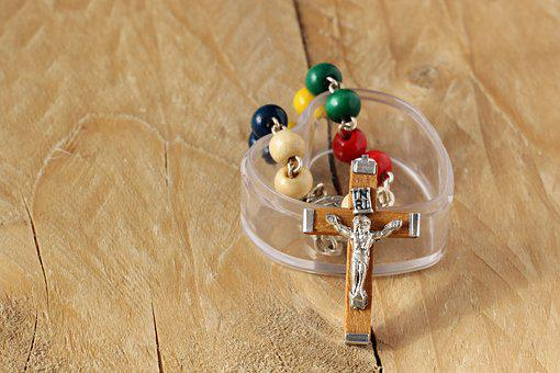 The Rosary, Decade Of The Rosary, Cross, Wooden Cross