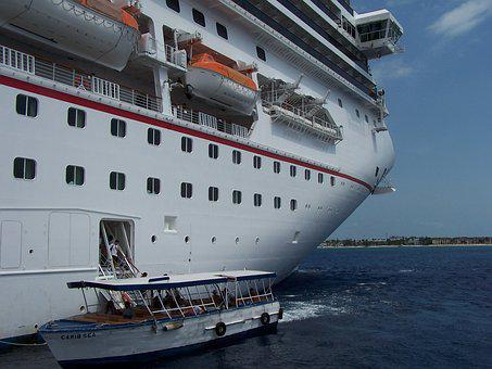 Cruise, Ship, Carnival, Docking, Boat