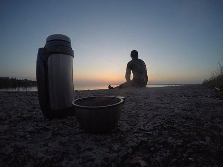 Dawn, Morning, At Dawn, Landscape, Sun, Sunrise