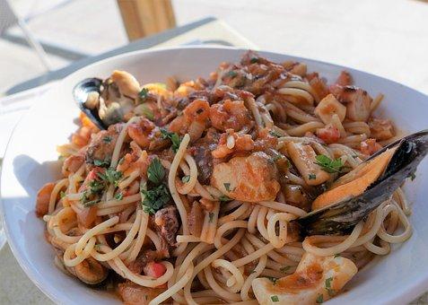 Spaghetti, Eat, Noodles