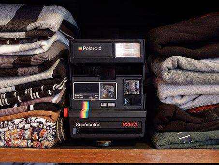 Polaroid, Fashion, Camera, Analog, Hipster, Young