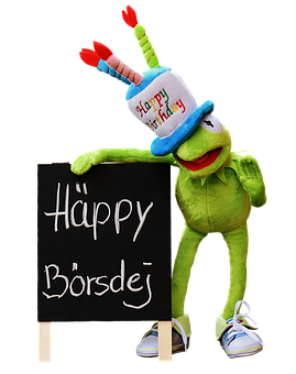 Birthday, Congratulations, Isolated, Kermit, Frog