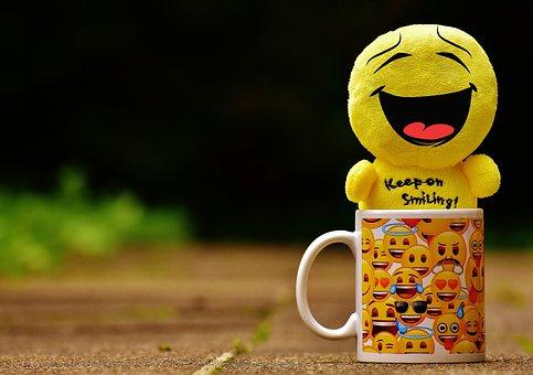 Laugh, Smiley, Emoticon, Funny, Fun, Cute, Sweet