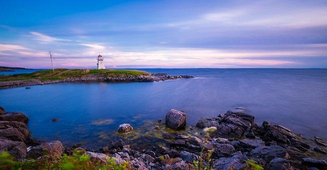 Cap Auget, Lighthouse, Light, Landmark, Historic