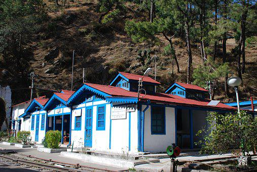 Shimla, India, Rail Station, Landscape, Building, Simla