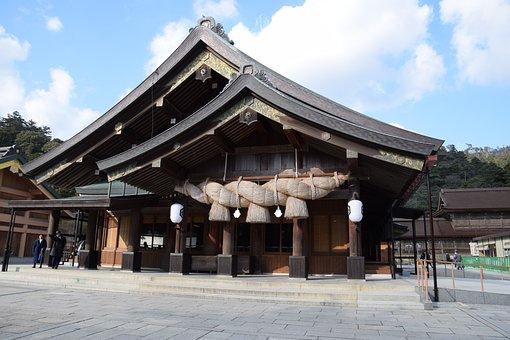 Izumo Temple, Tie, Knot, Izumo City