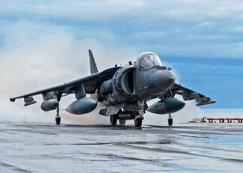 Av-8b Harrier, Jet, Aircraft, Fighter, Airplane