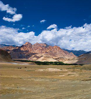 Landscape, Nature, Sky, Cloud, Mountain, Ladakh, India