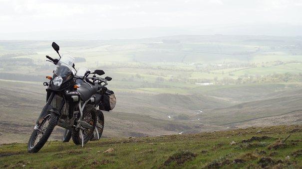 Moorland, Motorcycle, Pennines, Freedom, Motorbike