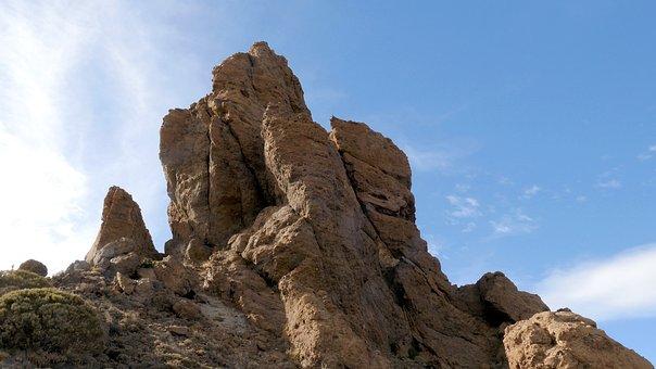 Rock, Cliff, Stones, Nature, Nature Reserve, Clouds
