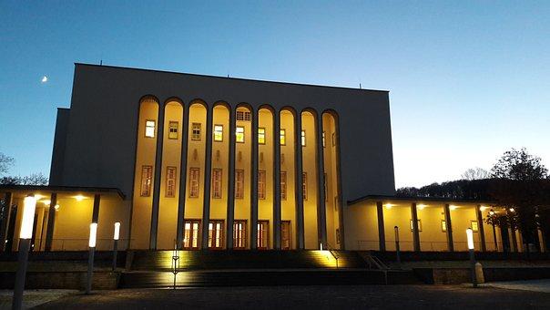 Oetker Hall, Bielefeld, Hall, Lighting