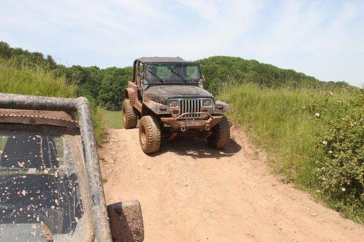 Offroad, Mamutpark, Jeep, 4 X 4