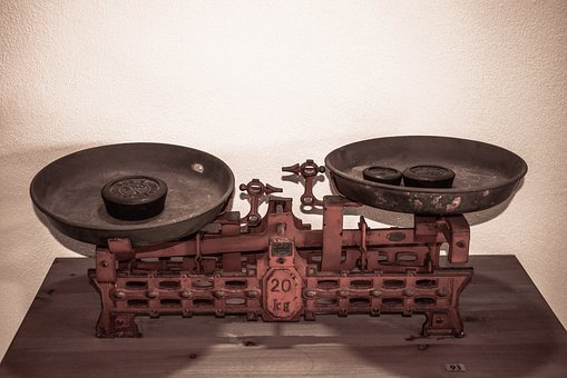 Scale, Old, Antique, Weight, Measurement, Retro