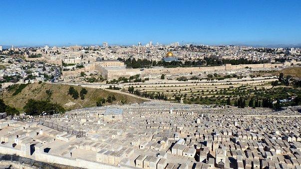 Jerusalem, Panorama, Old Town