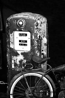 Old, Petrol, Old Gas Station, Gas Pump, Antique, Retro
