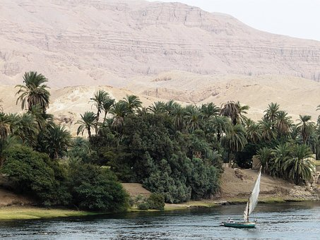 Nile, River, Boot