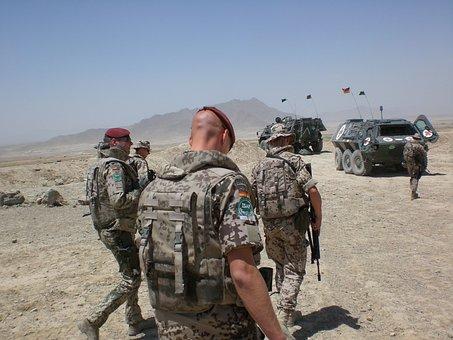 Army, Isaf, Afghanistan, Bundeswehr, Use, Military