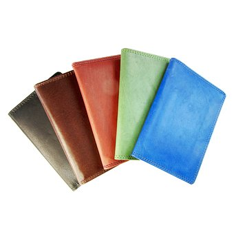 Leather Case, Visitenkartenetui, Card Wallet