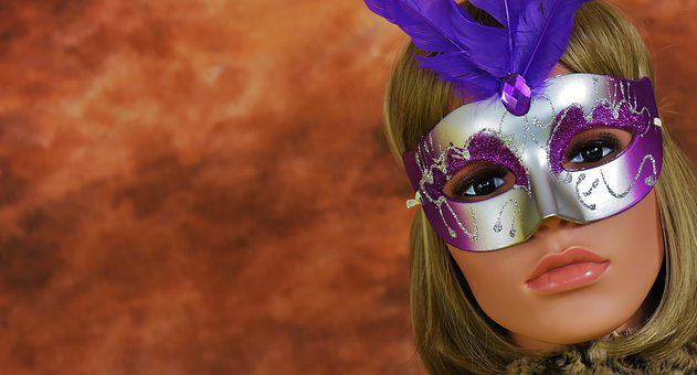 Face, Carnival, Mask, Woman, Mysterious, Doll