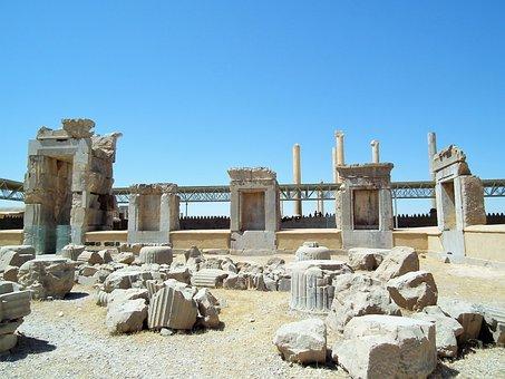 Ancient Ruins, Persepolis, Shiraz, Iran