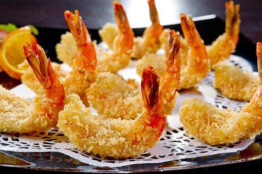 Korean Cuisine, Food, Shrimp, Appetizer, Restaurant